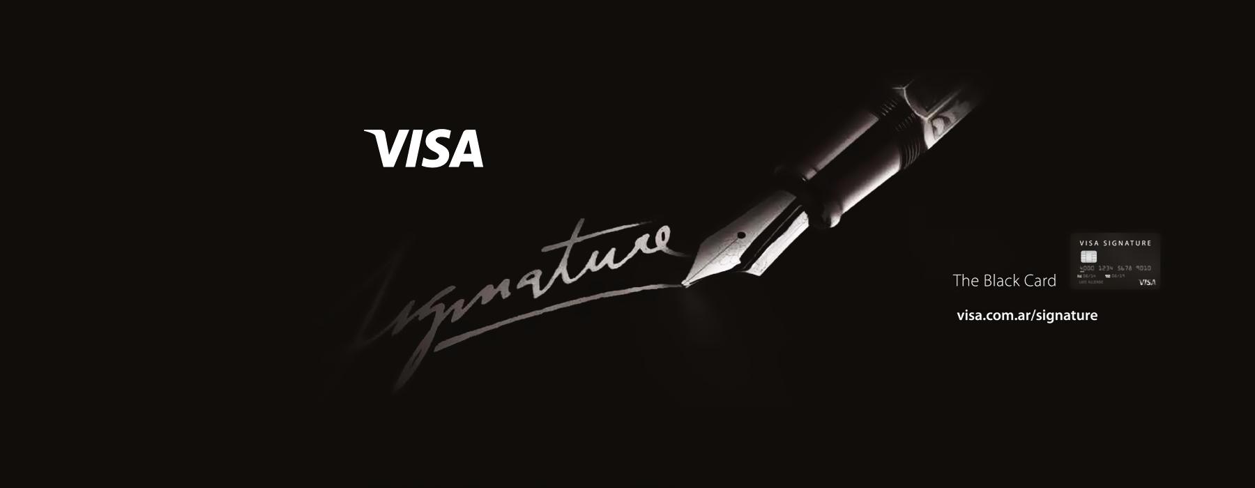 ARG Visa Signature